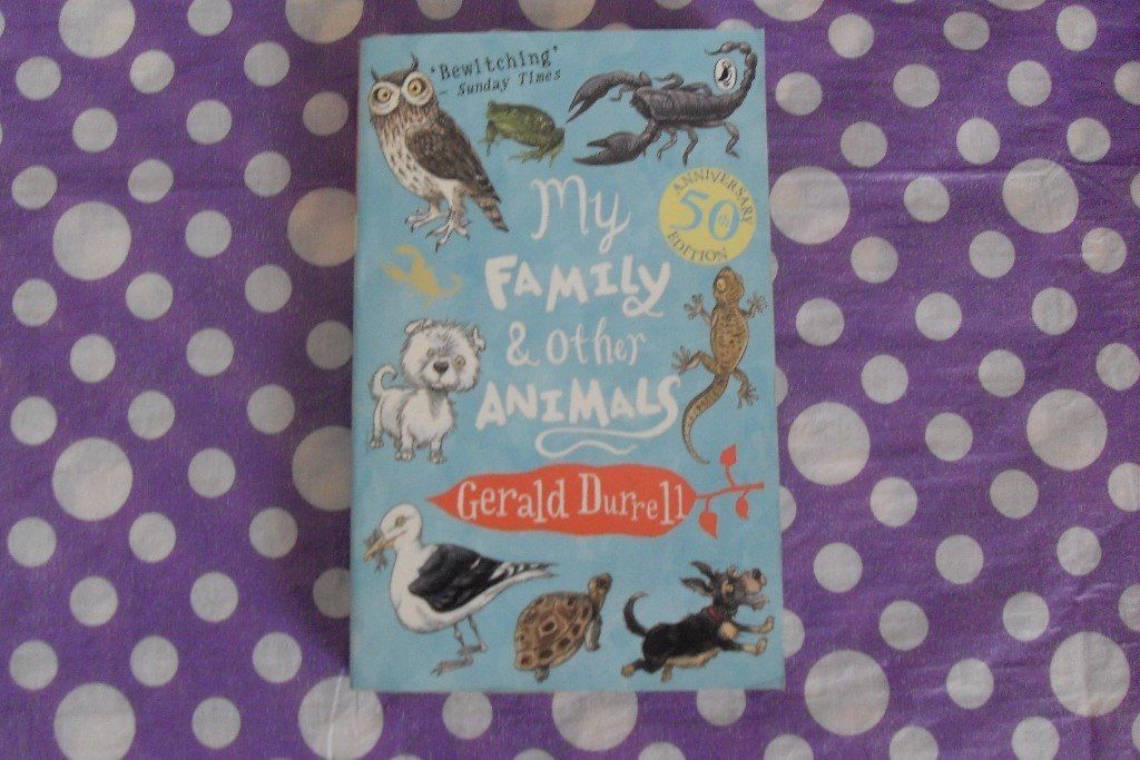 My Family and Other Animals - Gerald Durrell Book.