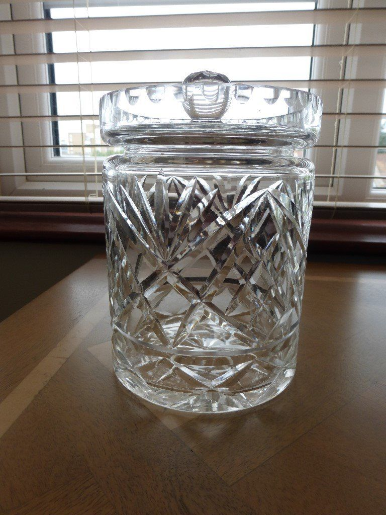 Biscuit Barrel – Lead Crystal Cut Glass