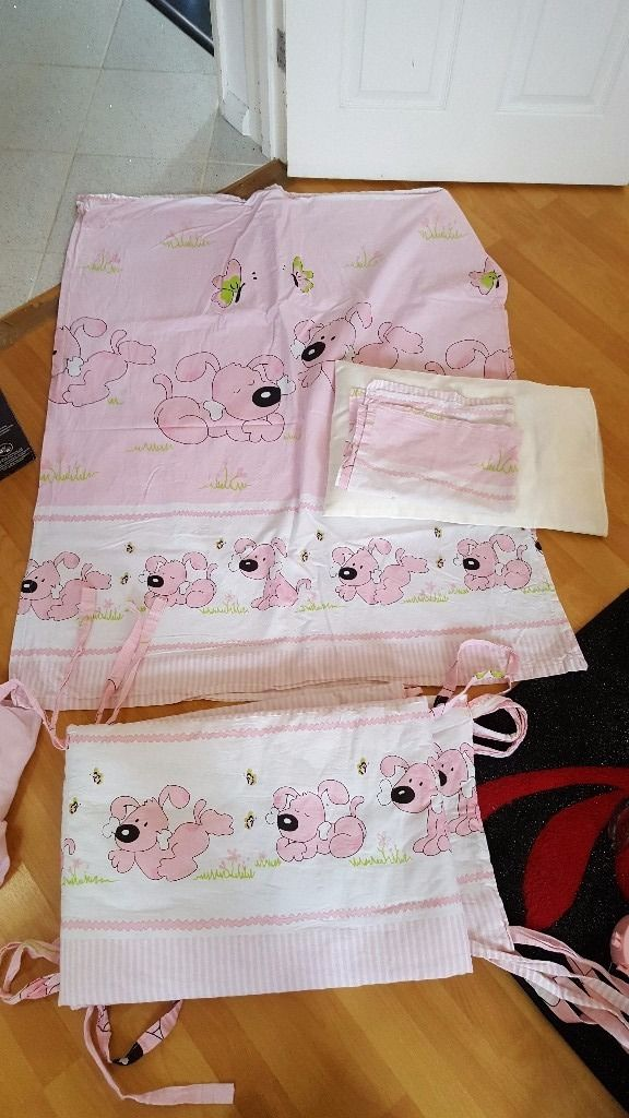 Baby girls bedding set