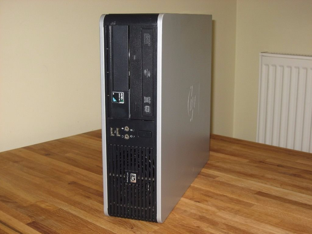 "PC System with 19"" Monitor, Keyboard, Mouse. Wi-Fi Internet. Dual Core, Win 7. Excellent Condition."