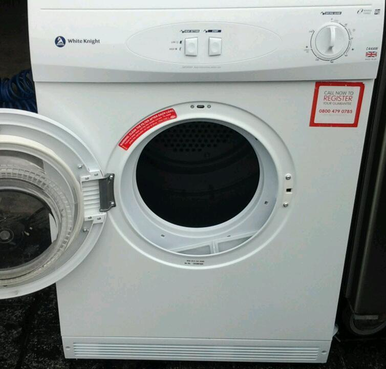 White knight tumble dryer in good working order.