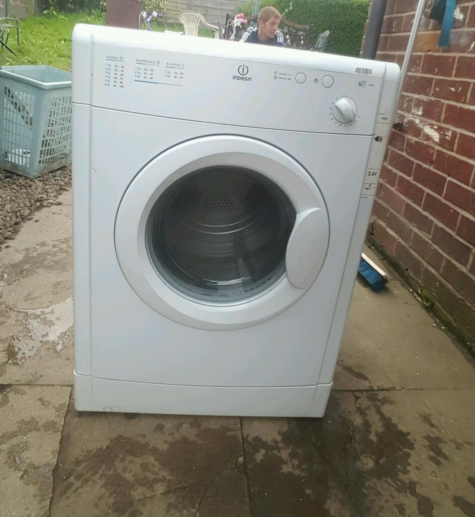 indesit tumble dryer vented