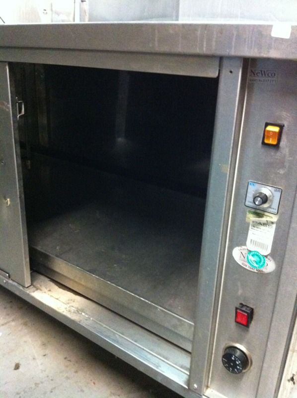 Newco hot cupboard