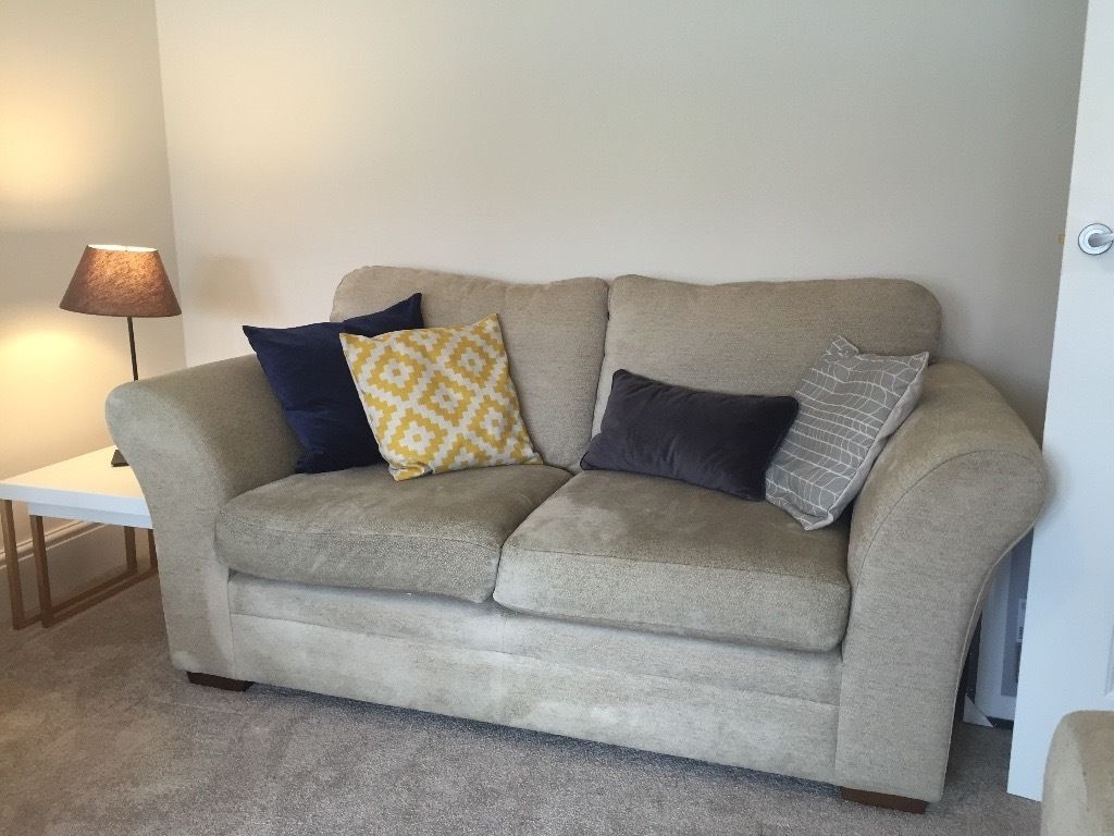 Two Sofa's, excellent condition. 1x Two Seater, 1x Three Seater, originally from Next.