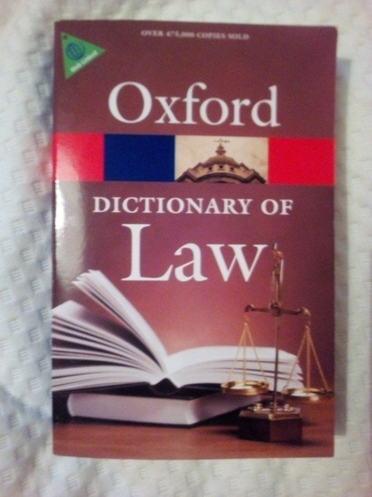 Oxfors dictionary of law