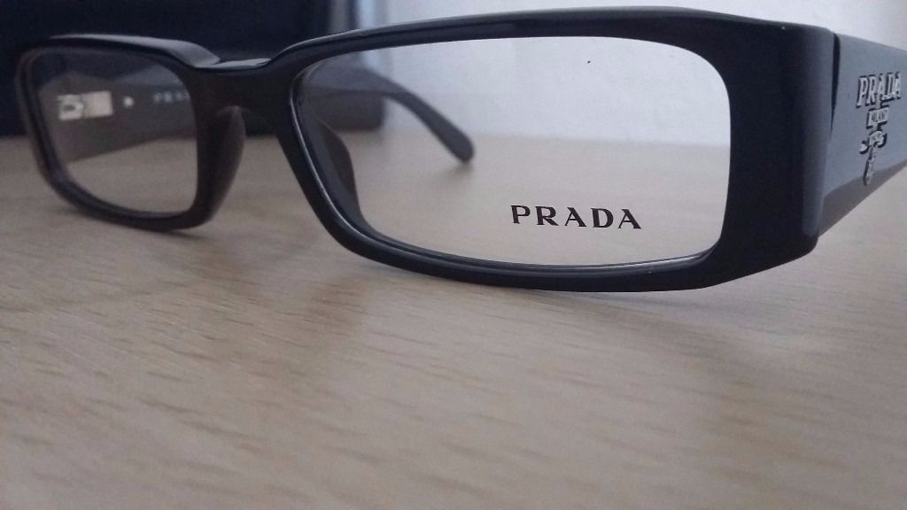 New Prada eyeglasses with new prada case