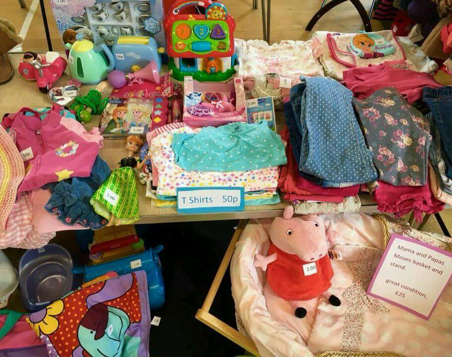 Nearly new baby and children's sale- 23rd July