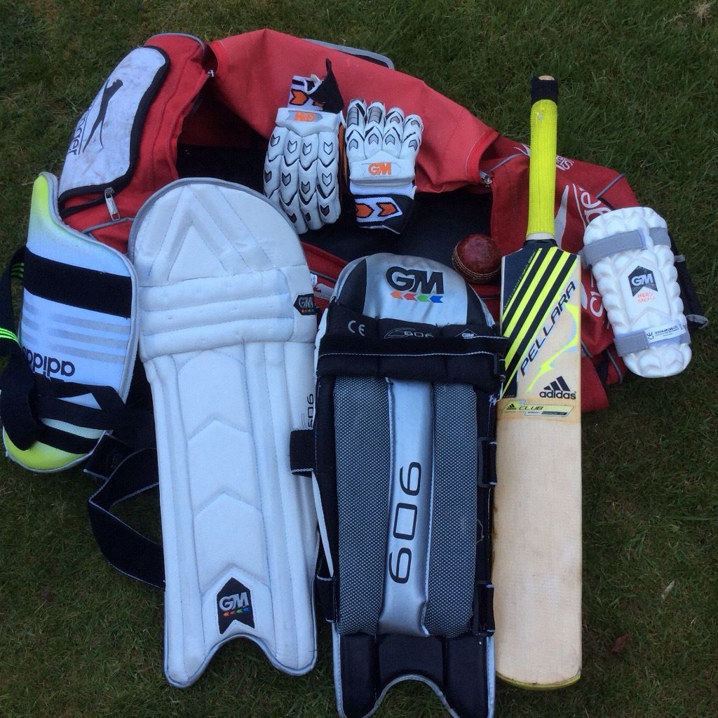 Cricket equipment suitable 16 year old