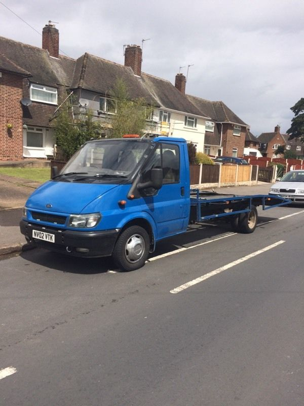 Ford Transit LWB Recovery Truck 12 months MOT 2002