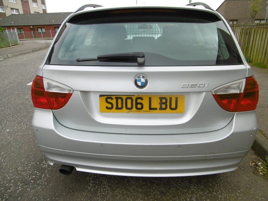 BMW 2006 SILVER 3 SERIES TOURING ESTATE 320i