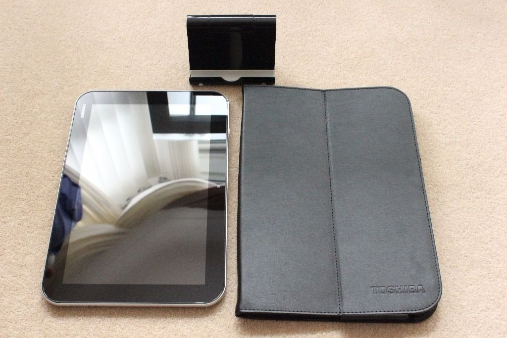 "Toshiba Excite Pro 10.1"" Android Tablet 2GB RAM 16GB Storage Quad Core Processor + Accessories"
