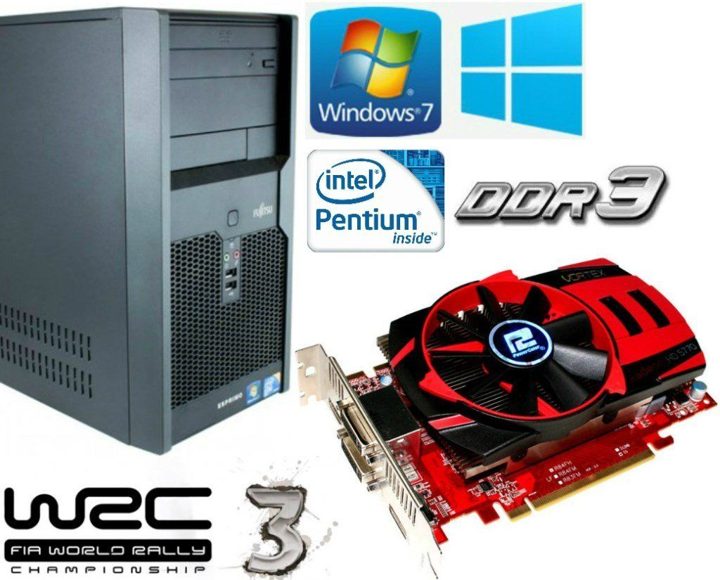 Gaming PC, Intel 3.06GHz, HD 5750 ddr5, 4GB Ram DDR3, 320GB HD, HDMI