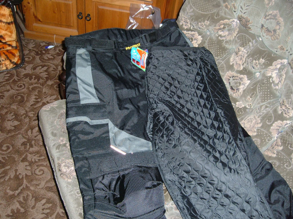 brand new motorcycle jacket and trousers