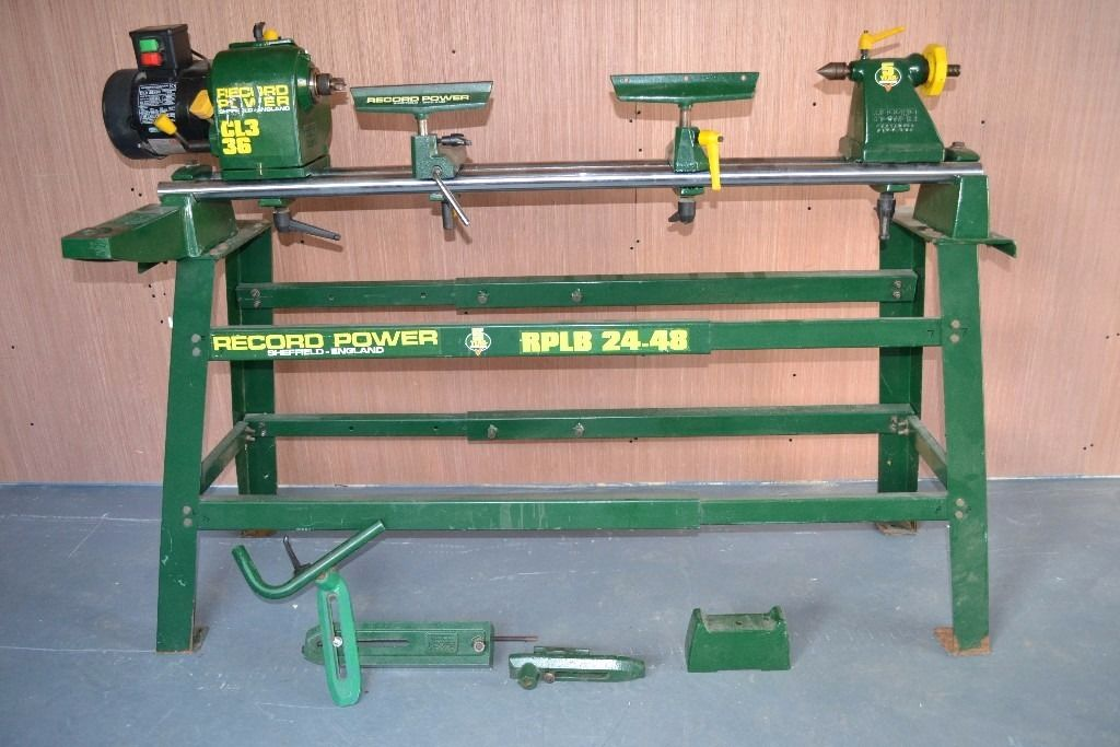 record wood turng lathe