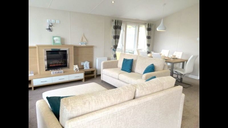 BRAND NEW Luxury Lodge For Sale-12 Month Holiday Park WEST WALES