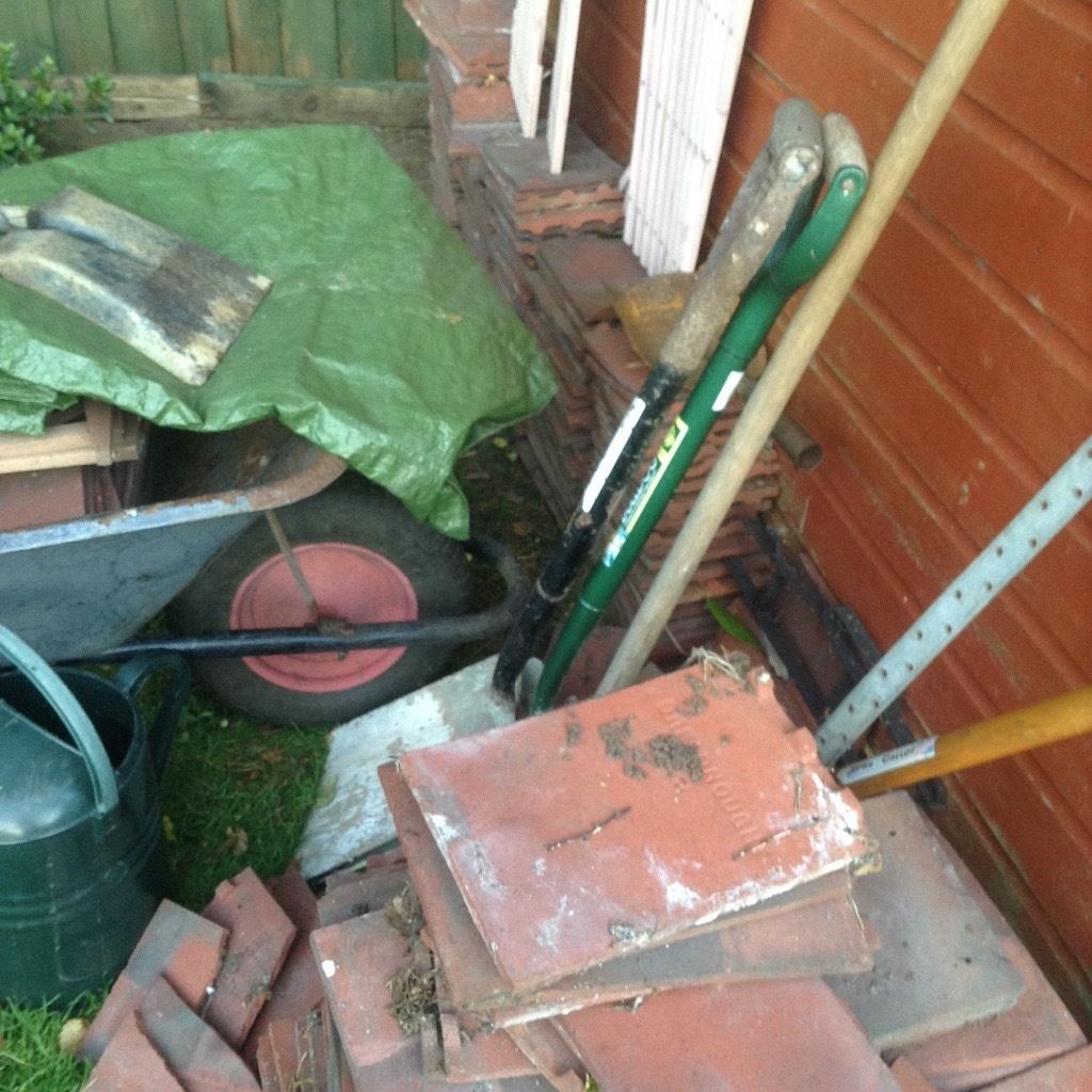 Roof tiles free great for small project or hardcore