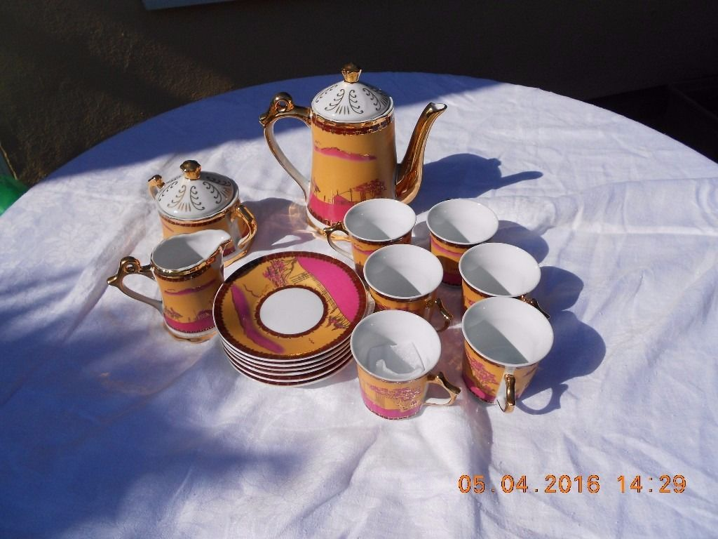 A Genuine Moroccan Tea Set