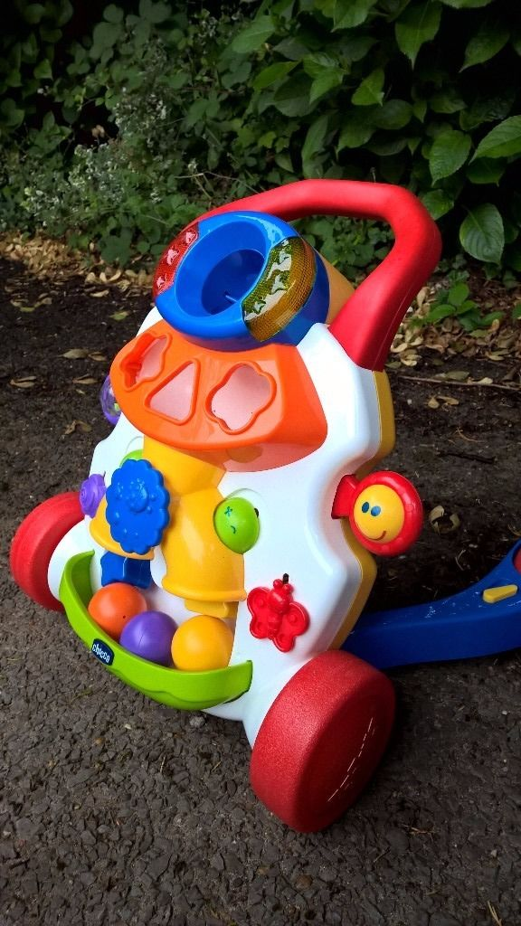 Chicco Baby Walker, Musical with shapes and balls