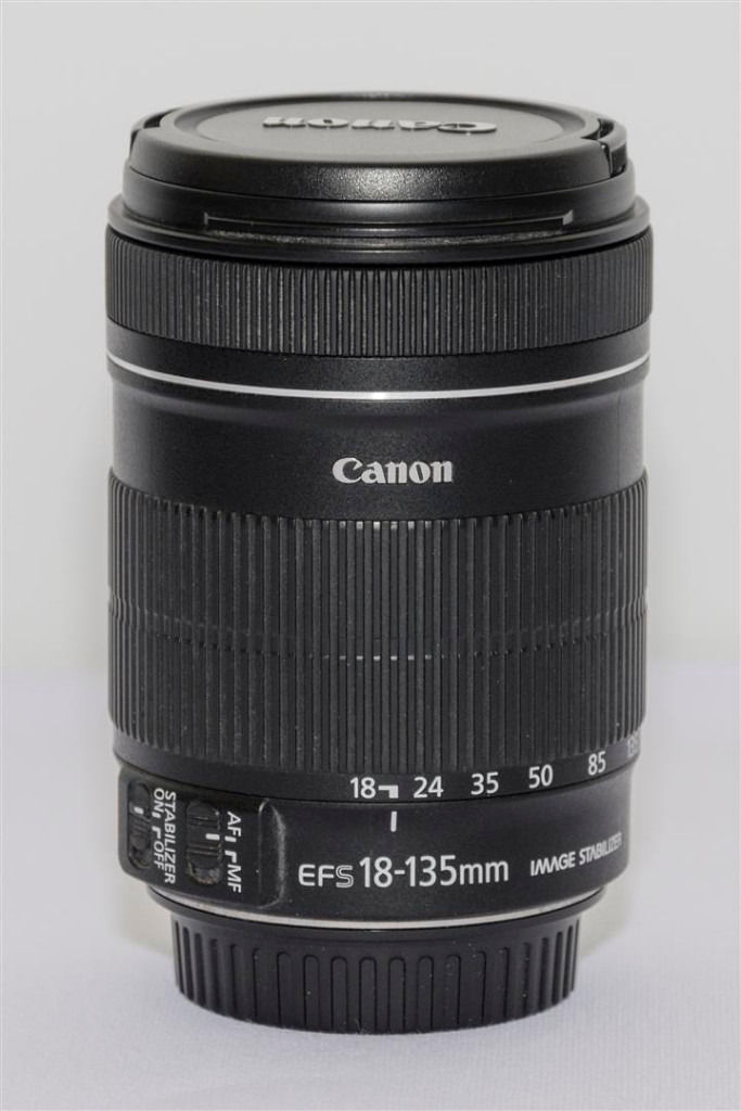 CANON 18-135MM IMAGE STABILISED LENS