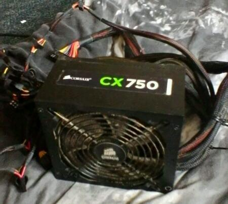 CX 750 watt corsair