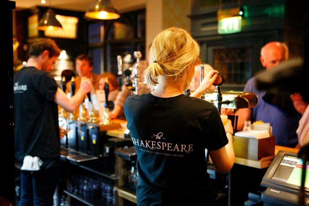 Assistant Bar Manager at The Shakespeare Redland
