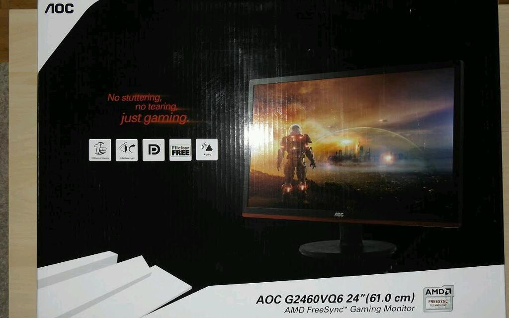 Aoc Monitor Led 24'' Gaming