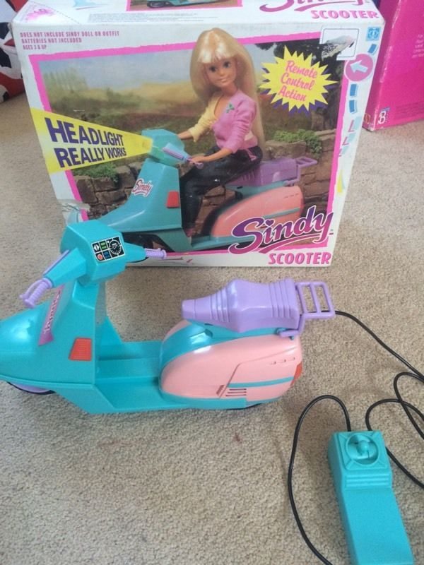 Sindy remote control scooter in box