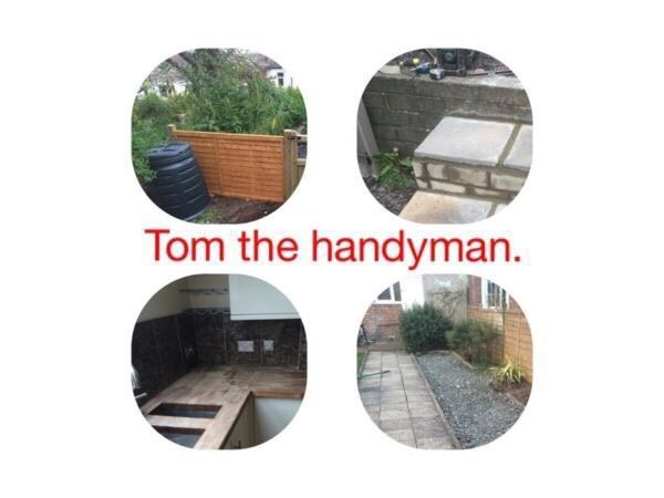 TOM THE HANDYMAN. Handy man and building services.