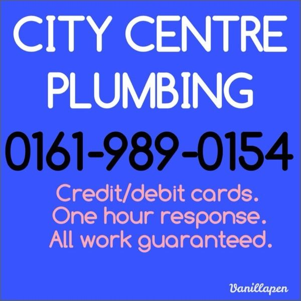 CITY CENTRE PLUMBING. Plumber. Emergency plumber.