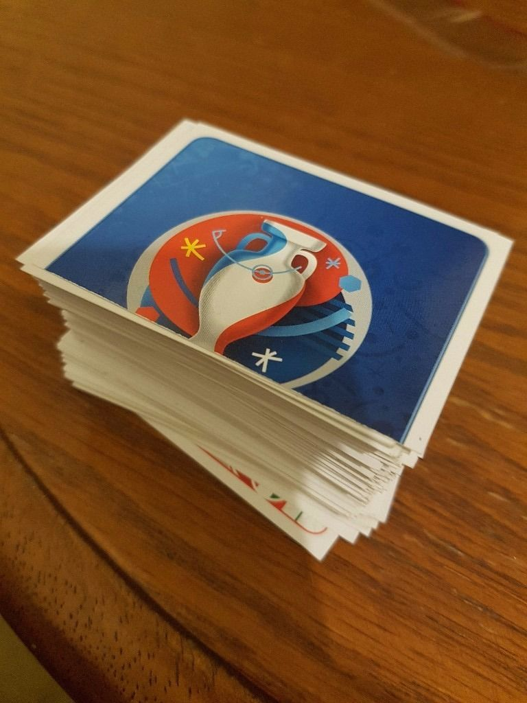 Euro 2016 sticker swaps