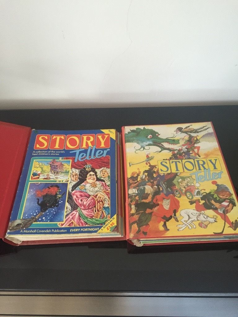 Story teller 1 & 2 magazines and tapes