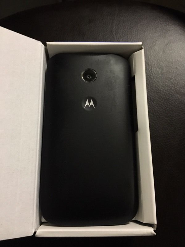 motorola moto e unlocked 4g boxed mint condition