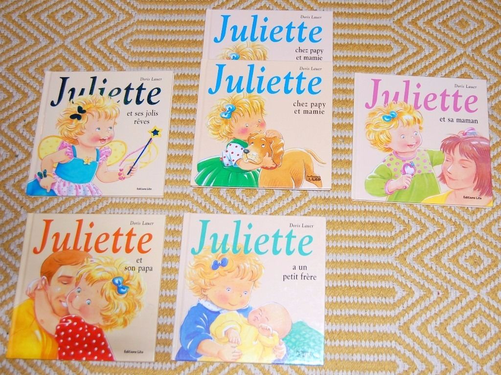 'Juliette' French children's books
