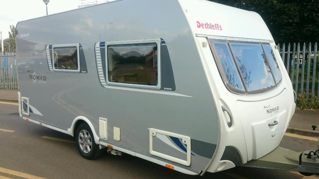 2008 Dethleffs Rally Noman 470With a fitted motor-mover and full paperwork from new in vgc no damp