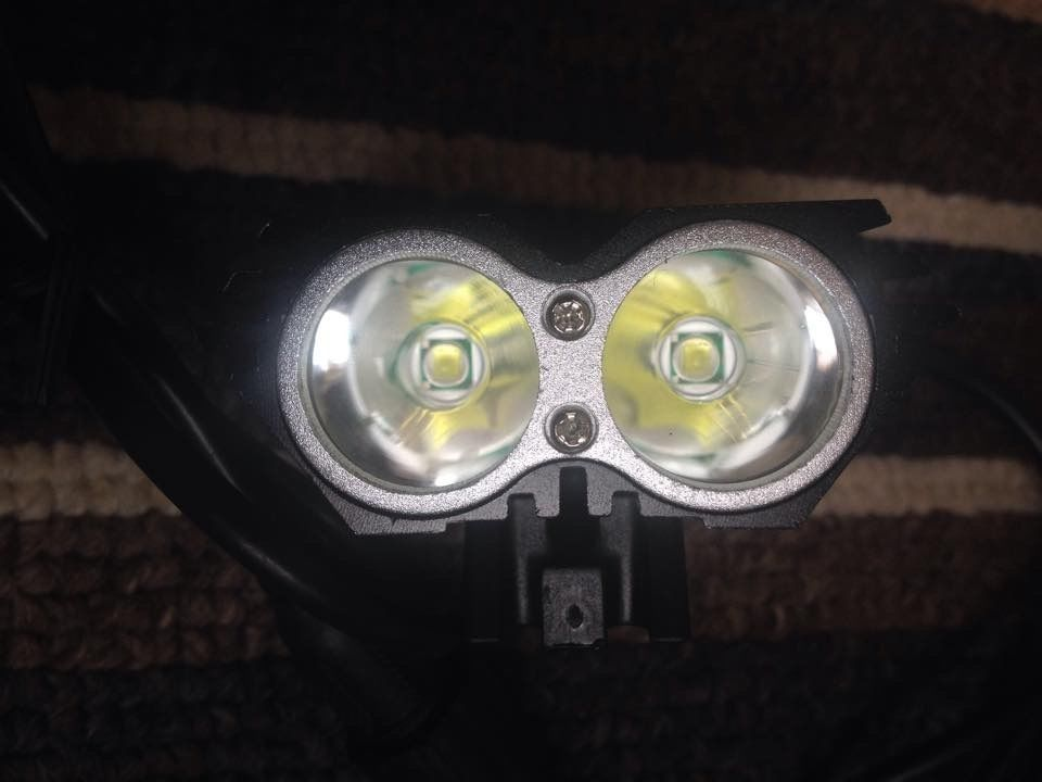 5000 Lumen Bike Light U2 XML x2 CREE LED Bicycle LAMP