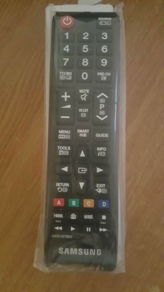 Samsung 3D smart TV remote