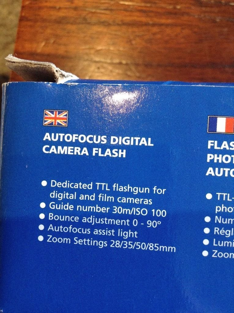 Jessops 300AFD flash for Canon