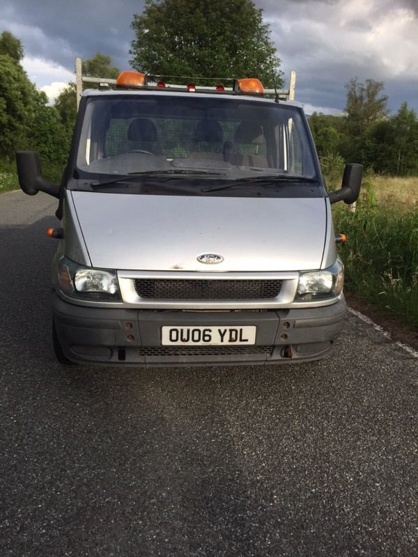 2006 ford transit Dropside lorry