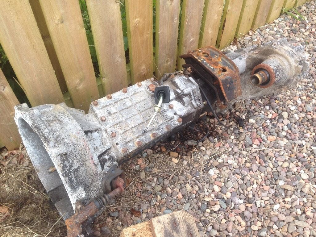 Ford ranger gearbox 4x4
