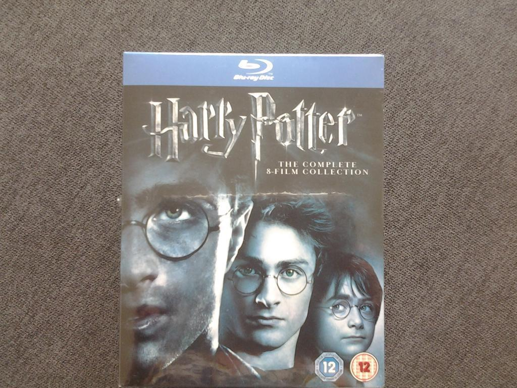 Blu ray Harry Potter 11 disc set