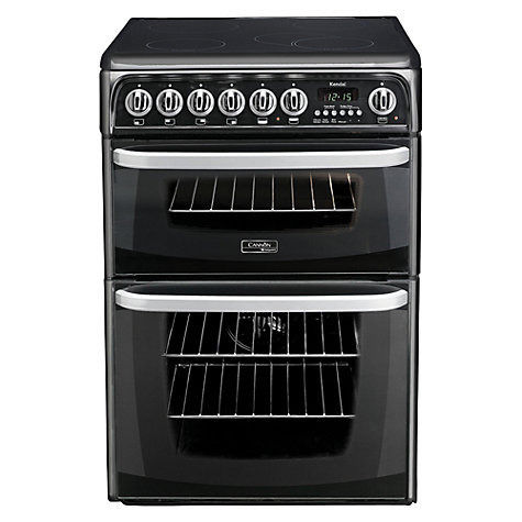 Hotpoint Cannon CH60EKKS Electric Cooker, Black