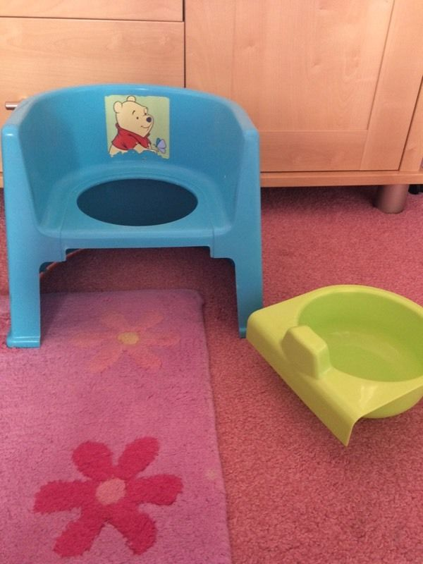 Potty chair - great for potty training