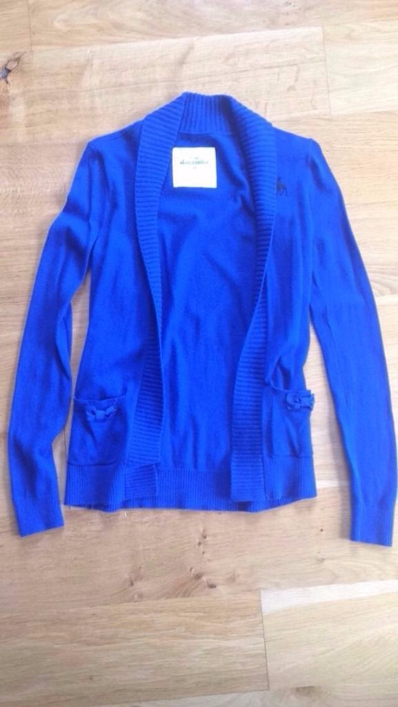 Abercrombie and Fitch Kids Blue Cardigan Size Large