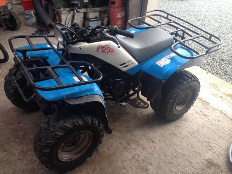 Yamaha farm quad