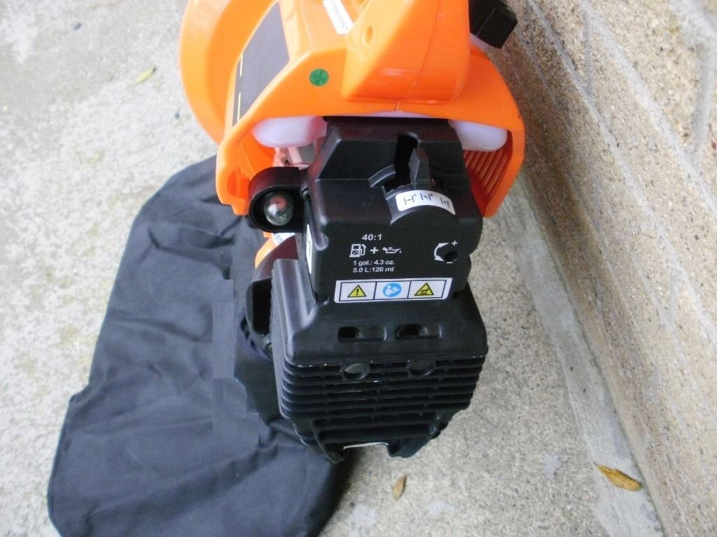 Petrol Leaf blower vac Vacuum ; Best for left sided users