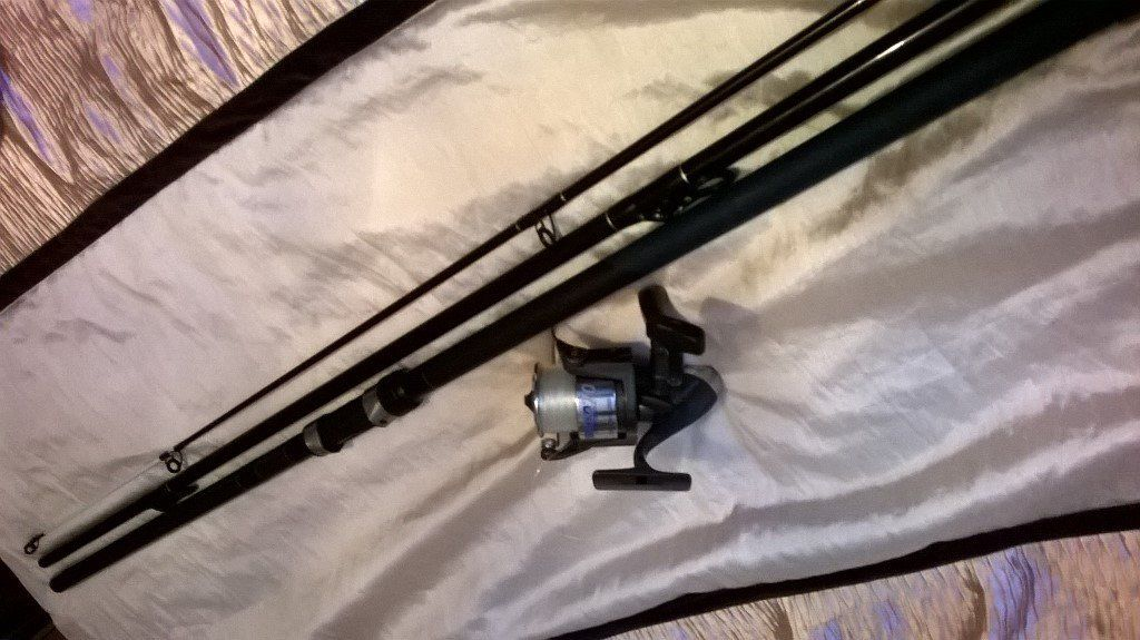 SEA FISHING ROD & REEL