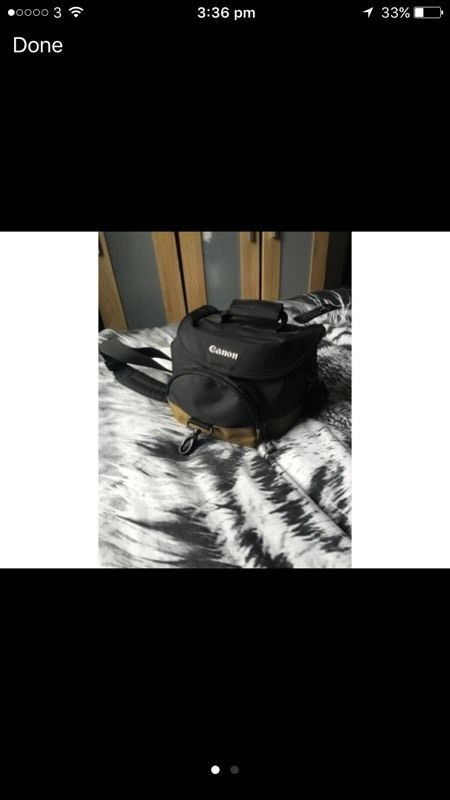 CANNON CAMERA BAG MINT CONDITION