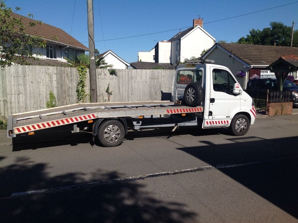 Recovery truck 2003/53 movano 163k long mot ready for work good payload no vat no vat