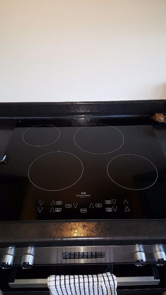 Newworld Halogen 4 ring Hob in black