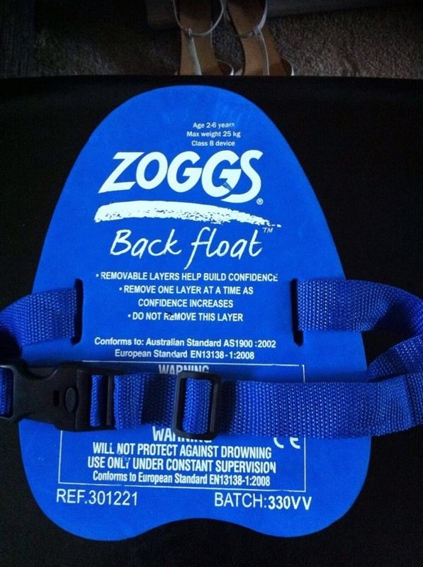 Zoggs Back Float